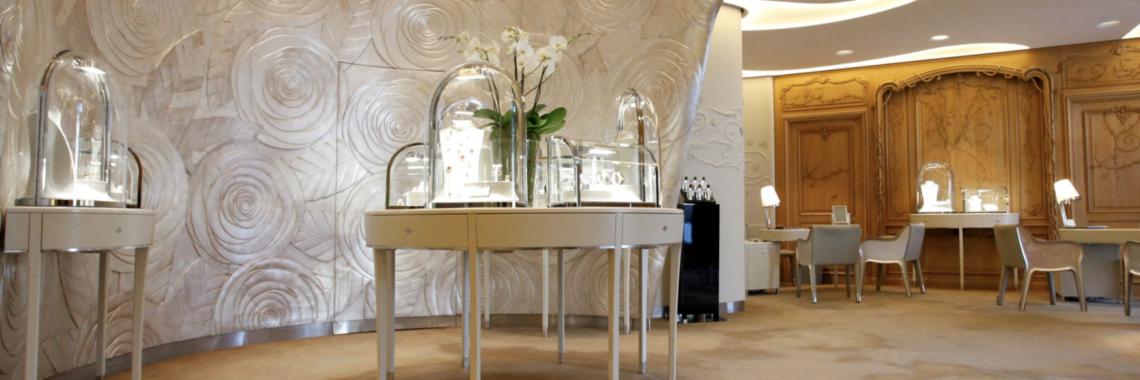 the Van Cleef & Arpels salon at Place Vendome