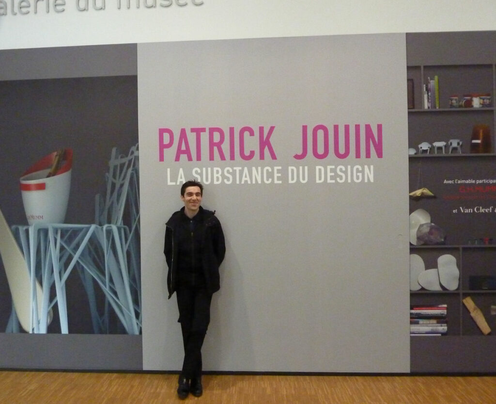 Patrick Jouin at the Centre Pompidou in 2010.