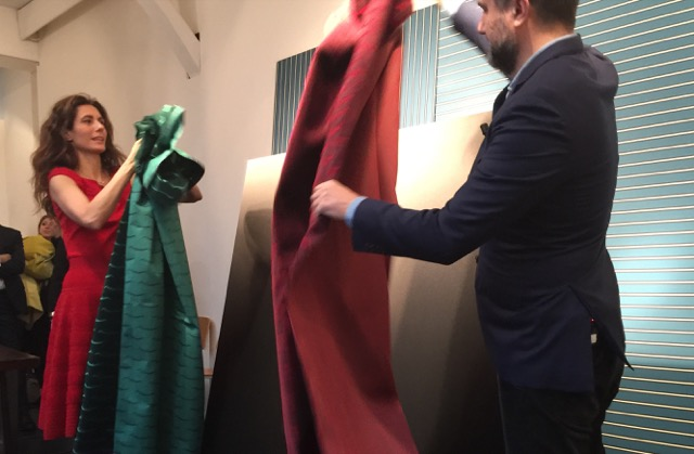 Raffaele and Caterina Fabrizio present Dedar's newest introductions that illustrate how menswear influenced textiles this year.