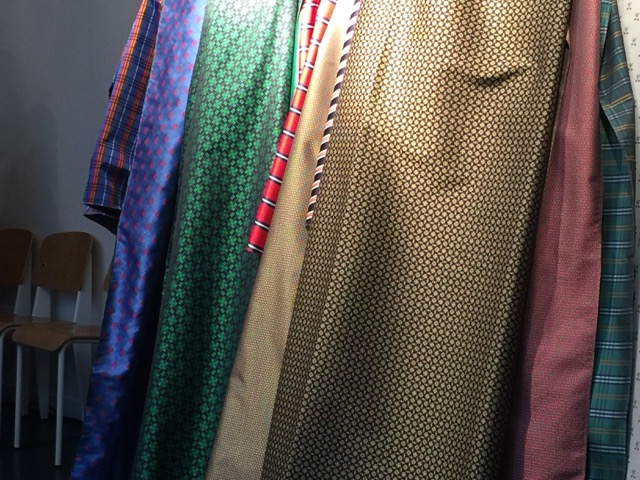 A mere handful of Dedar fabrics evoking a menswear aesthetic that debuted in January 2018.