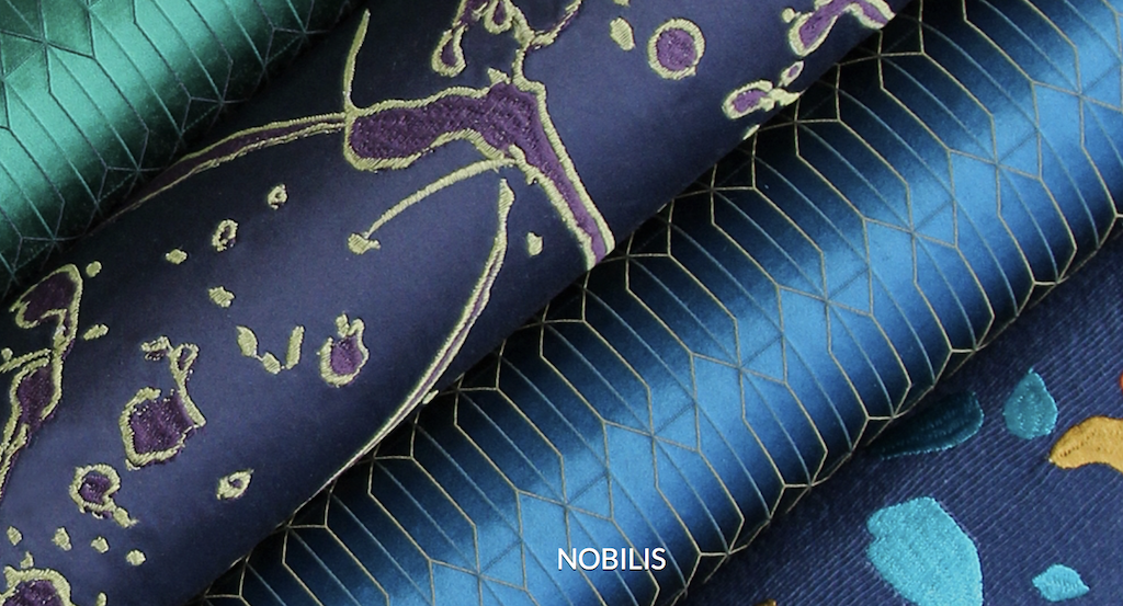 These jewel-toned Nobilis releases debuted during Paris Déco-Off.