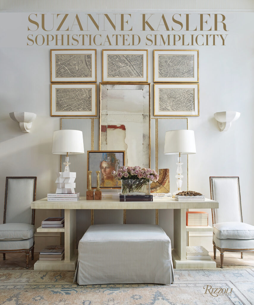 """Cover photo of  the coffee table book """"Sophisticated Simplicity."""""""