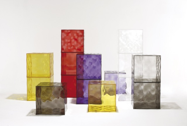 The Optic collection, which Jouin designed for Kartell.