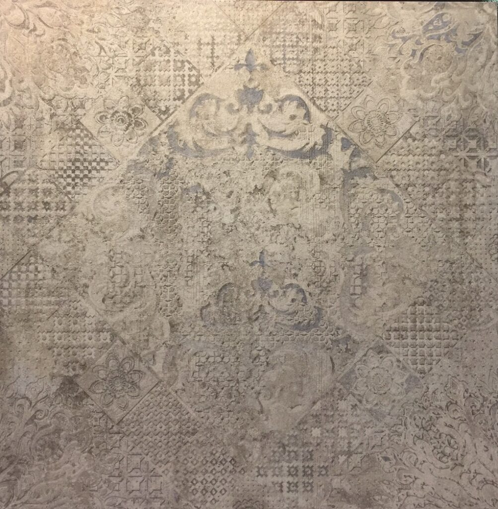 Absolut Keramika Troya's Memphis pattern debuted during the Coverings trade show.
