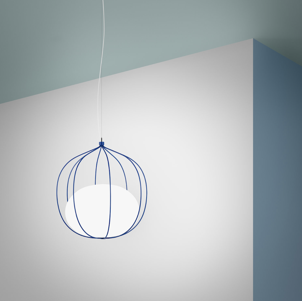 The Hoop pendant by Zero Lighting introduced to the US at ICFF by Global Lighting.