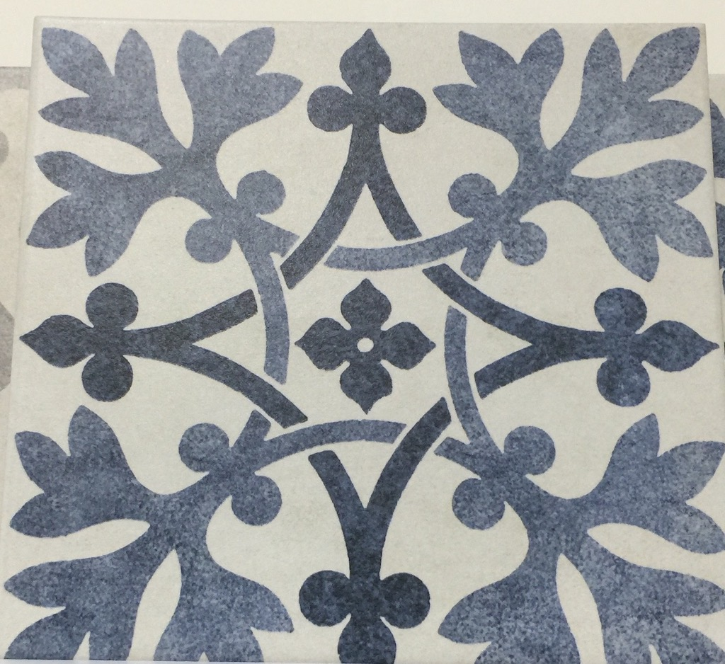 British Ceramic Tile brought this V&A pattern to Coverings.