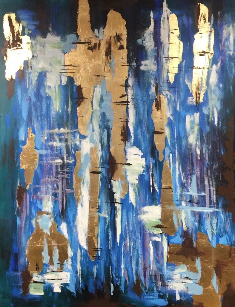 Blue Mirage in the Erdos + Ko Home showroom in the Dallas Market Center.