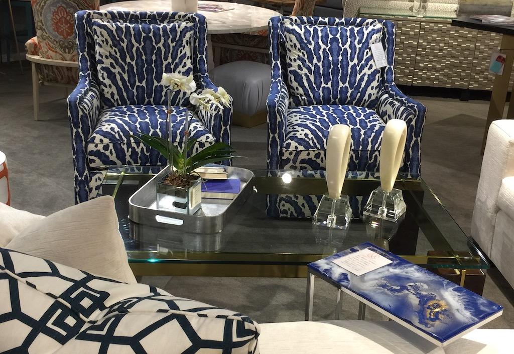 C. Maddox & Company showroom holds CR Laine and TJ Garis furnishings.