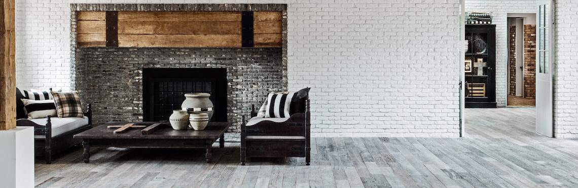 Diane Keaton's living room in The House That Pinterest Built