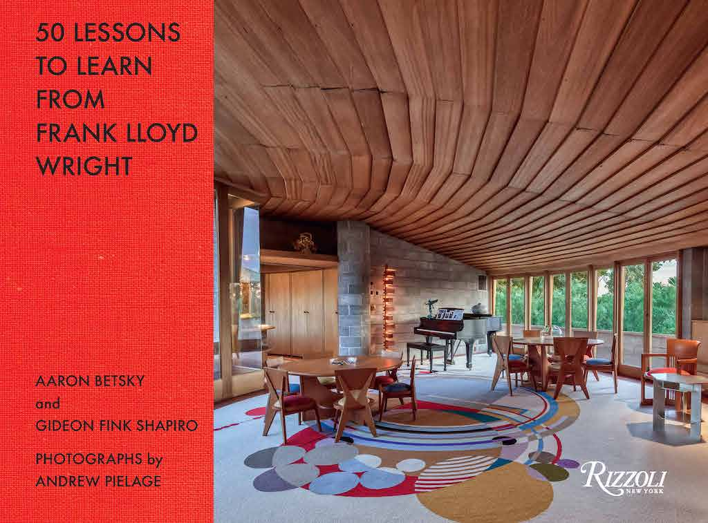 The Cover of 50 Lessons to Learn from Frank Lloyd Wright. Image © Andrew Pielage.