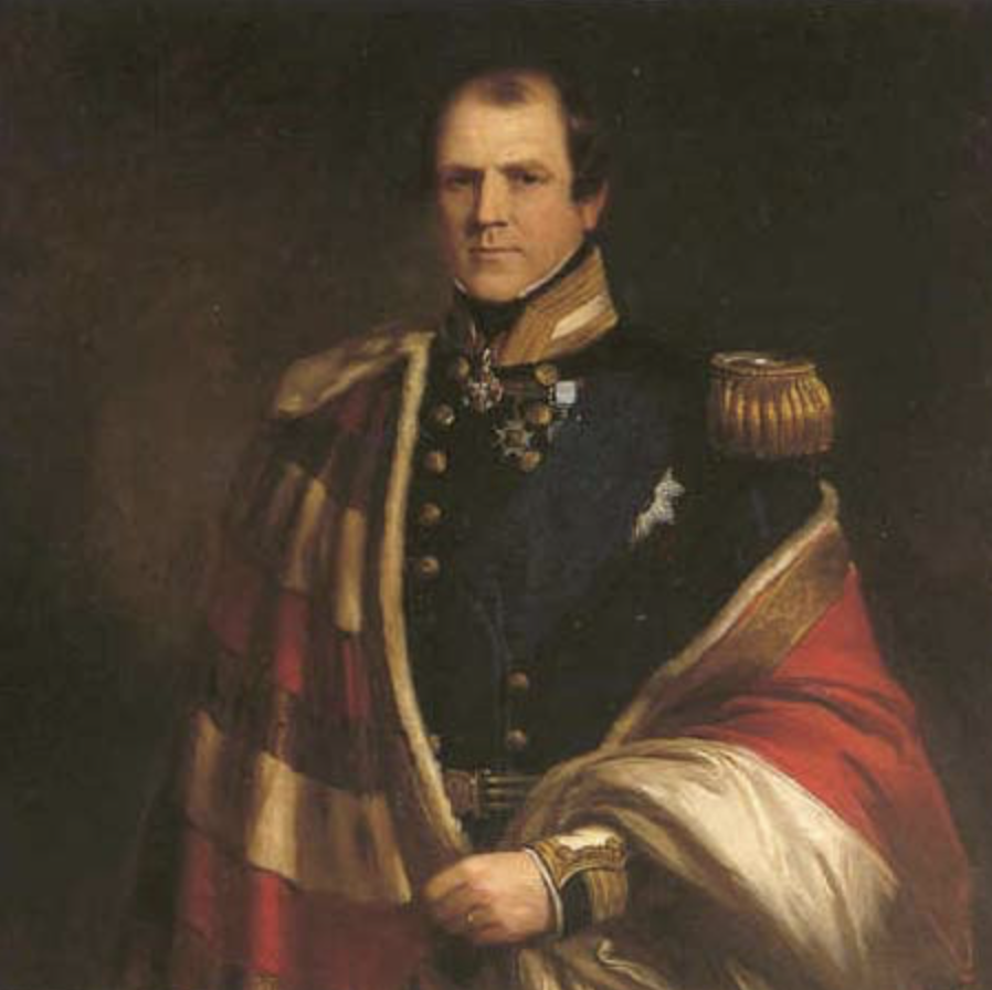 Frederick, 4th Earl Spencer, the current Earl's seafaring ancestor.