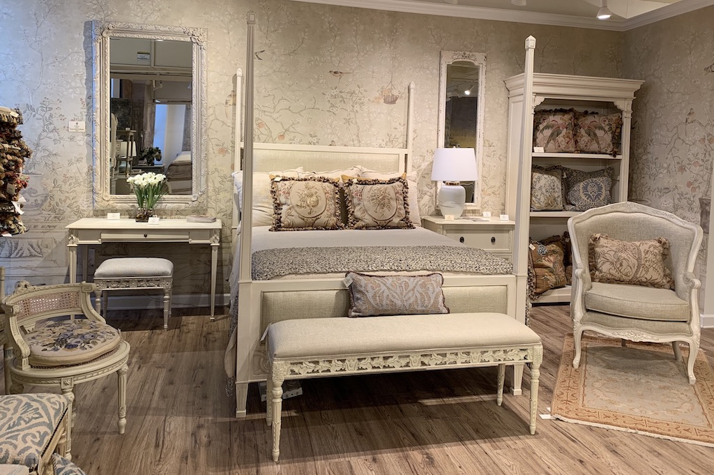 The entire French Market Collection showroom fits our prink trend beautifully.