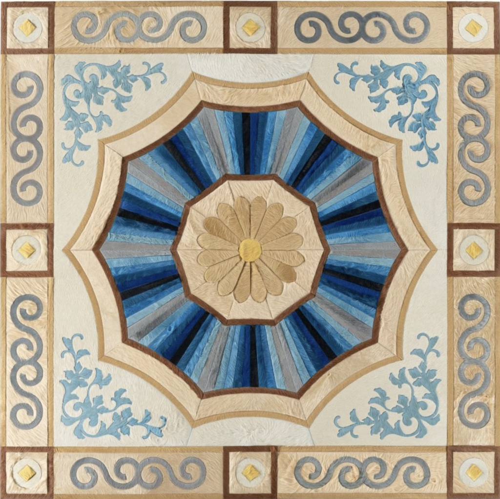 The Savonniere pattern in the Chateau Collection.