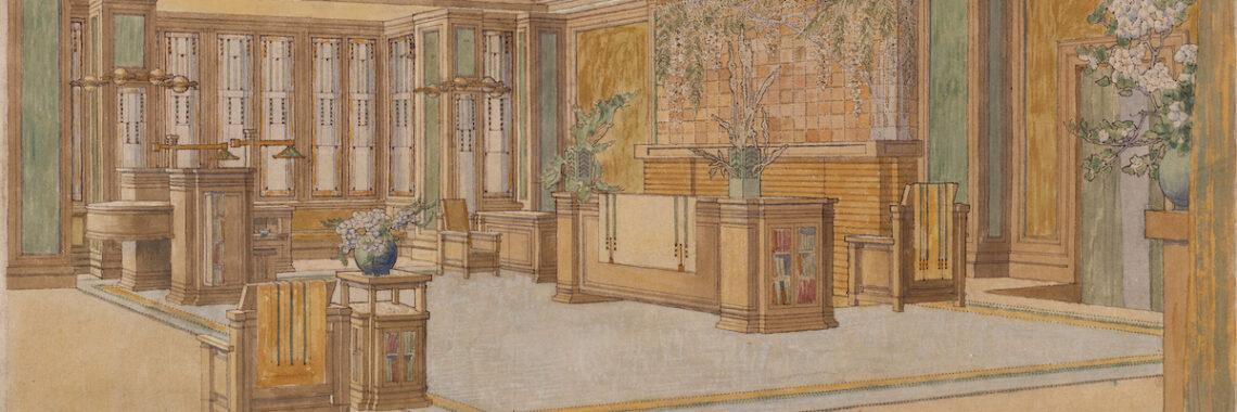 a renovation by Frank Lloyd Write that remains unbuilt