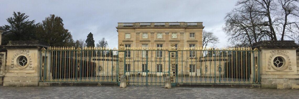 the Petit Trianon at Versailles