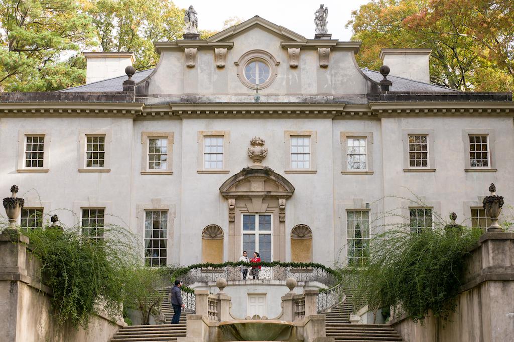 The west-facing façade. Image courtesy of Atlanta History Center.