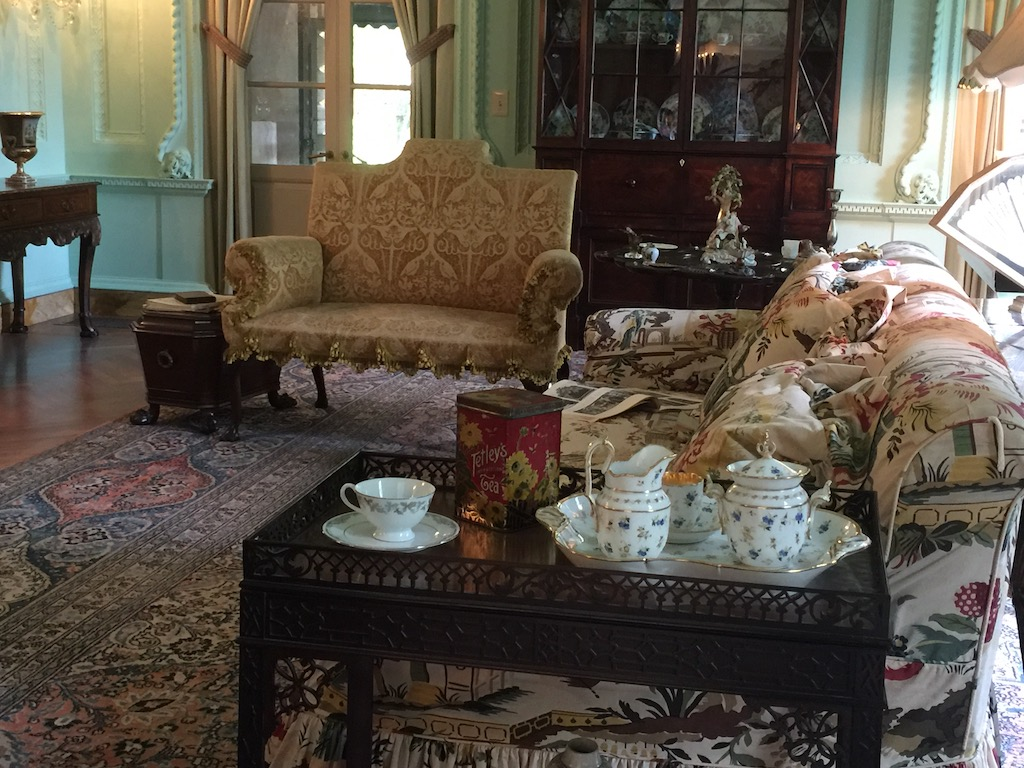A vignette from the morning room. Image © Design Diary.