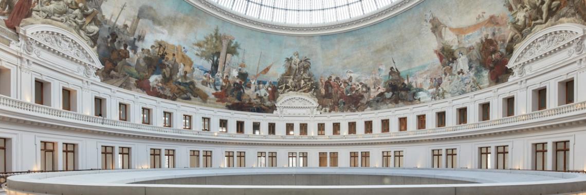 The interior of Borse de Commerce