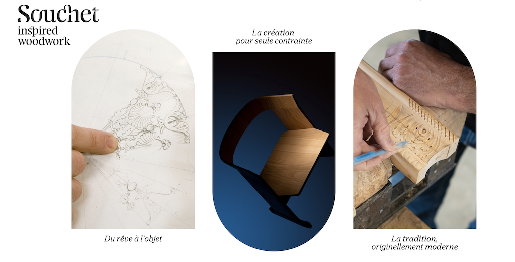 Gregory Lacoua is collaborating with Souchet. Image courtesy Souchet.